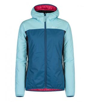 Montura Outback Hoody W Jacket blu ottanio/ice blue bunda