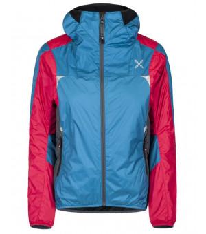 Montura Skisky Jacket W blu ottanio/rosa sugar bunda