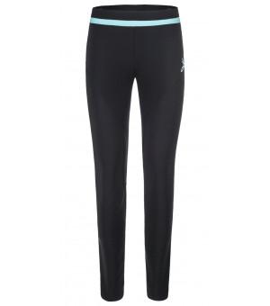 Montura Thermo Fit Pants W nero/ice blue nohavice