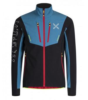 Montura Ski Style Jacket nero/blu ottanio bunda