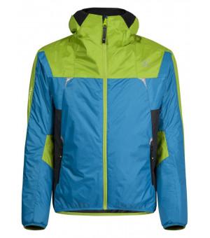 Montura Skisky Jacket cielo/verde acido bunda