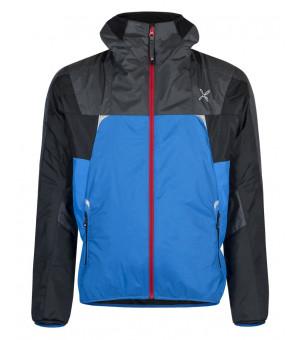 Montura Skisky Jacket celeste/rosso bunda