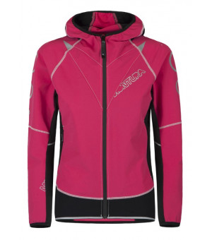 Montura Run Flash Jacket W rosa sugar bunda