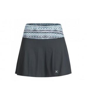 Montura Sensi Smart Skirt + Shorts W piombo/fantasia 15 sukňa