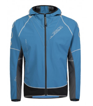 Montura Run Flash Jacket blu ottanio/piombo bunda