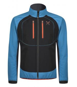 Montura Free Tech Jacket blu ottanio/aragosta bunda