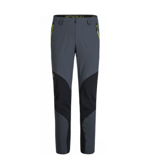 Montura Vertigo Light Pants piombo/verde acido nohavice