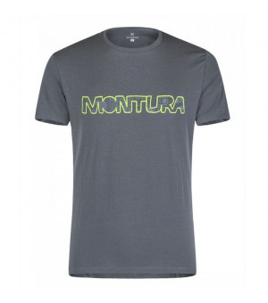 Montura Ethnic T-Shirt piombo tričko
