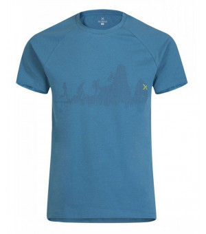 Montura Sporty T-Shirt blu ottanio tričko