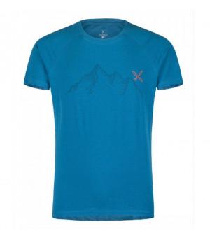 Montura Mountain T-Shirt blu ottanio tričko