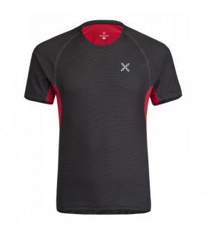 Montura Skin 2 T-Shirt nero/rosso tričko