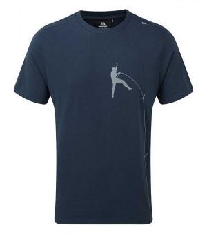 Mountain Equipment Portland Tee tričko Denim Blue