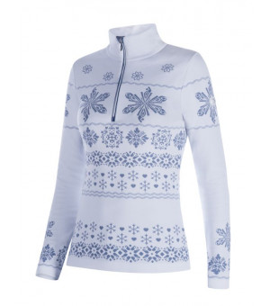 Newland Amelie Lady T-Neck White/ice grey rolák