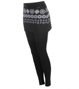 Newland April Lady Skirted Leggings Black/white sukňa s legínami