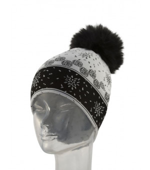 Newland Marge Lady Beanie White/black čiapka