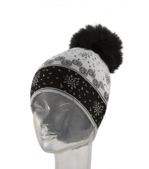 Newland Marge Lady Beanie White/black čiapka