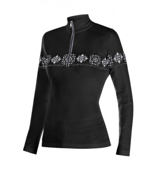 Newland Thelma Lady T-Neck Black/white rolák