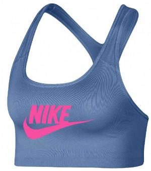 Nike Pro Clsc Swsh Bra podprsenka 47 modrá