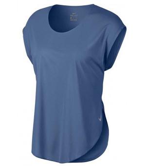 Nike W City Sleek tričko modré