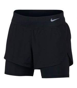 Nike W NK Eclipse 2in1 Šortky čierne