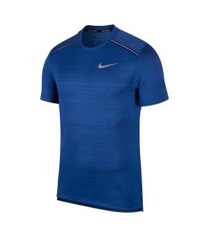 Nike M NK Dry Miler Top SS modré