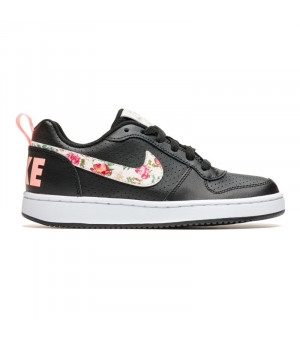 Nike Court Borough Low VF (GS) JR 10 čierna