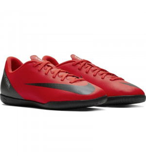 Nike Vaporx 12 Club GS CR7 IC Jr. červené