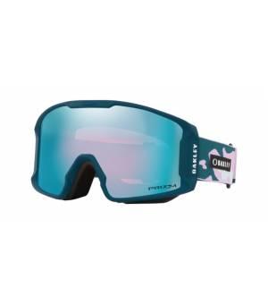 Oakley Line Miner XM FP Sapphire Iridium Lyžiarske okuliare