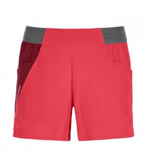 Ortovox Piz Selva Light Shorts W hot coral kraťasy