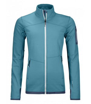 Ortovox Fleece Light Jacket W aqua mikina