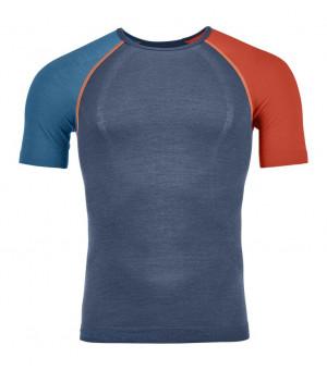 Ortovox 120 Comp Light Short Sleeve M night blue tričko