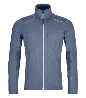 Ortovox Fleece Light Grid Jacket M night blue mikina