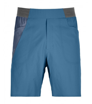 Ortovox Piz Selva Light Shorts M blue sea kraťasy