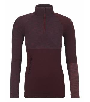 Ortovox 230 Competition Zip Neck W dark wine blend rolák