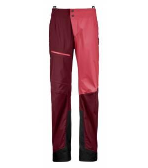 Ortovox Ortler Pants W dark blood nohavice