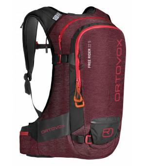 Ortovox Free Rider 22l S dark blood blend batoh