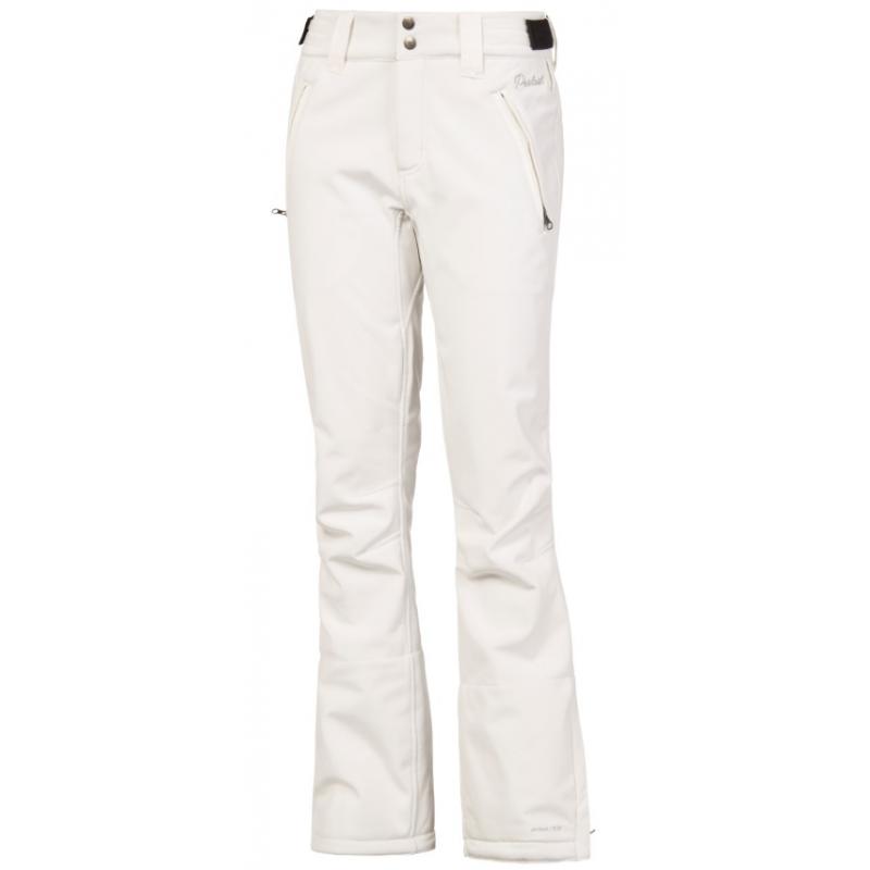 16137d966a Dámske biele softshellové lyžiarske - snowboardové nohavice PROTEST ...