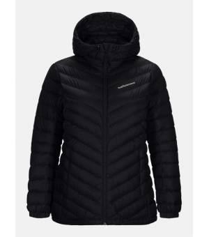 Peak Performance Frost WDown Hood Black bunda