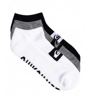 QUIKSILVER 3 ANKLE PACK SOCK PONOŽKY