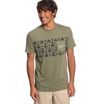 Quiksilver Planet OF The Lost tričko TPC0 zelené