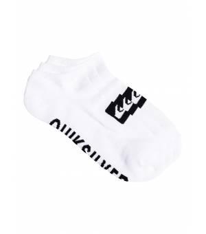 Quiksilver 3 Ankle Pack Socks ponožky WBB0 biele