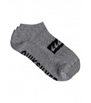 Quiksilver 3 Ankle Pack Socks ponožky SGRH sivé