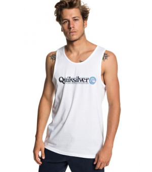 Quiksilver Art Tickle Tank Tees Tričko WBB0 biele