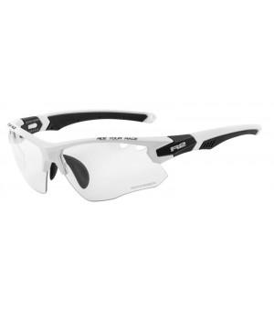 R2 Crown Slnečné Okuliare White/Black