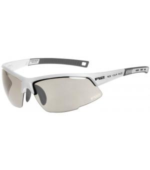 R2 Racer Slnečné okuliare White/Grey