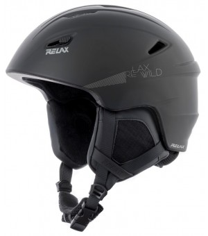 RELAX WILD LYŽIARSKA PRILBA 60-62 cm čierna