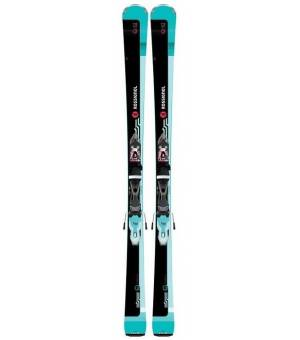 Rossignol Famous 2/Xpress W10 black/blue 19/20