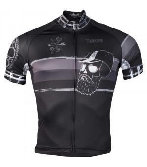Rosti Hipster Black cyklistický dres