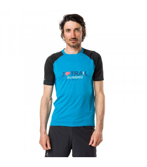 Raidlight Technical SS Top blue/black tričko