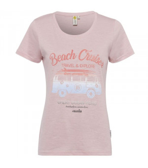 Roadsign T-Shirt Beach Cruiser Tričko rose